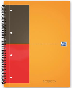 Oxford INTERNATIONAL notebook, 160 pages, ft A5+, ligné
