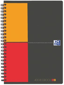 Oxford INTERNATIONAL Addressbook, ft A5, 144 pages