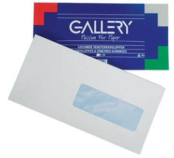 Gallery enveloppes avec fenêtre à droite, paquet de 50 pièces