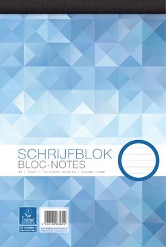 Work bloc-notes, ft A4, 70 g/m², 100 feuilles, ligné