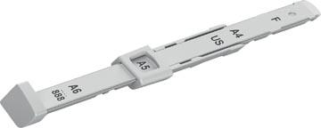 Réglette de guidage pour perforateurs Nexxt