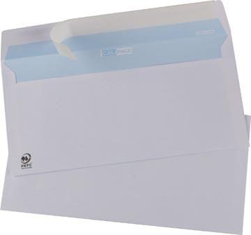 Calipage enveloppes ft 110 x 220 mm avec bande adhésive, boîte de 500 pièces