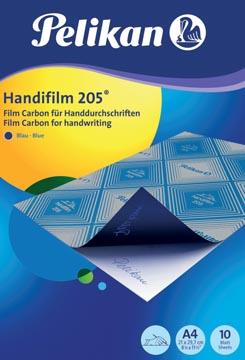 Pelikan papier carbone Handifilm 205, pochette de 10 feuilles