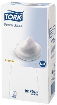 Tork savon mousse, Premium, système S34, flacon de 800 ml