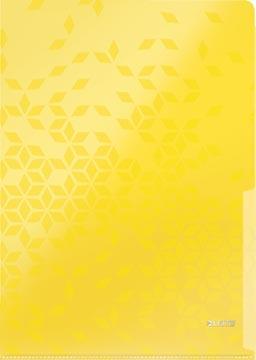 Leitz WOW pochette coin A4, en PP, couleur assorties