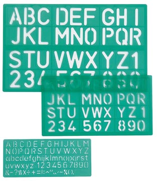 Linex trace-lettres, set de 3 pièces, blister 1 pièce