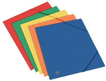 Oxford Top File+ farde à rabats, pour ft A5, couleurs assorties