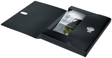 Leitz Recycle pochette documents, A4, noir