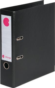Calipage classeur à levier noir, dos de 7,5 cm