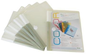 Pochette-documents, pour ft A5, paquet de 6 pièces
