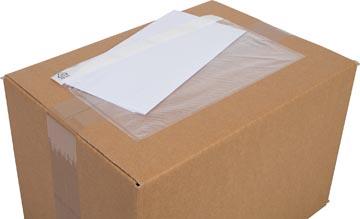 Cleverpack pochette documents, non-imprimé ft 230 x 112 mm, paquet de 100 pièces