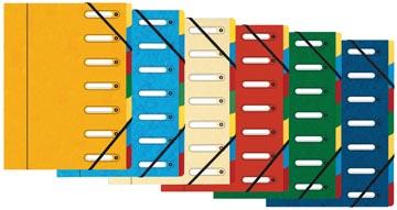 Exacompta trieur-classeur Harmonika avec 7 compartiments
