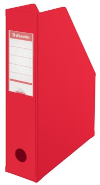 Porte-revues Esselte VIVIDA, ft A4, PVC, rouge