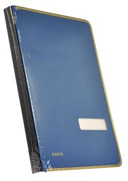 Class'ex signataire bleu, avec bord de protection métallique