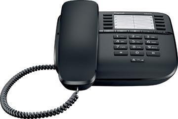 Gigaset DA510 téléphone filaire, noir