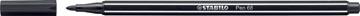 STABILO feutre Pen 68 , noir