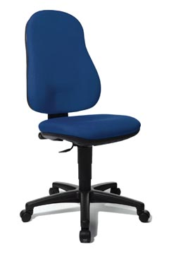 Topstar chaise de bureau Point 50, bleu