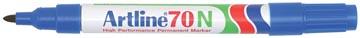 Marqueur permanent Artline 70, bleu