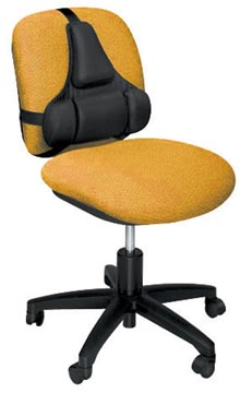 Fellowes Professional Series Ultimate support dorsal, noir