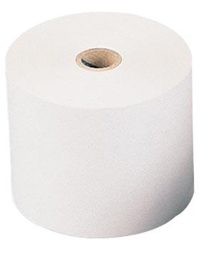 Bobine thermique, ft 80 mm, diamètre +-70 mm, mandrin 12 mm, longueur 75m