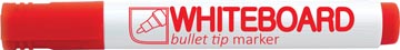 Crown marqueur pour tableaux blancs, rouge