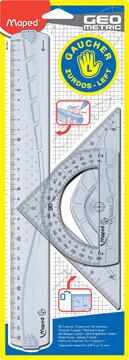 Maped Kit de dessin gaucher Geometric