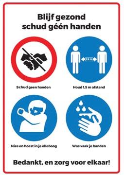 Autocollant de sécurité, symboles avec règles de conduite, ft A4