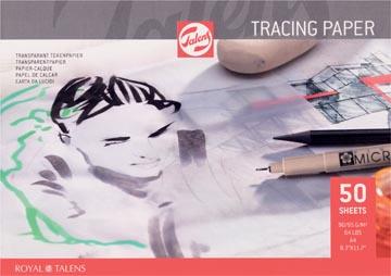 Talens papier calque, 90 g/m², ft A4