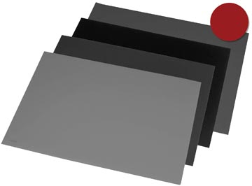 Rillstab sous-main ft 52 x 65 cm, noir
