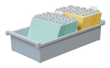 Fichiers en plastique