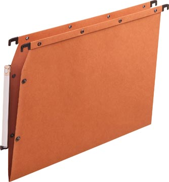 L'Oblique dossiers suspendus pour armoires AZV fond en V, orange