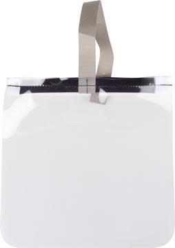 Bouclier facial de protection, transparent,ft 25 x 25 cm