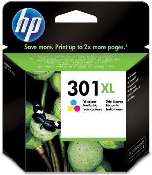 HP cartouche d'encre 301XL, 330 pages, OEM CH564EE, 3 couleurs