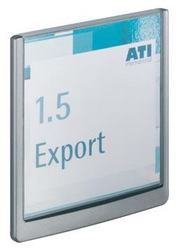 Durable plaque d'affichage Click Sign ft 14,9 x 14,8 cm