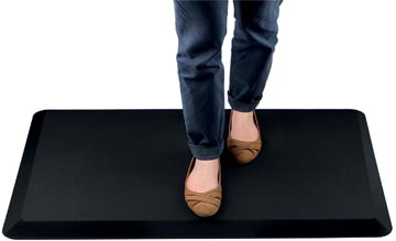 AFS-TEX tapis anti fatigue, revetement en polyester antimicrobie, ft 50 x 100 cm