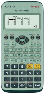 Casio calculatrice scientifique FX92 Collège B