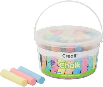 Havo craie à dessin Chalk, seau de 50 pièces