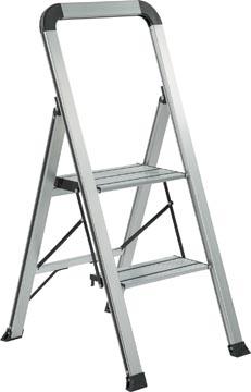 Galico escalier de cuisine espace aluminium, 2 marches
