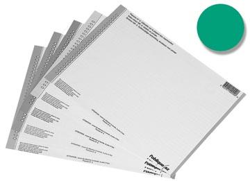 Elba onglets type 8, feuille de 54 étiquettes, vert