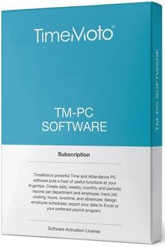 Safescan software pour systèmes de pointage, TimeMoto Pc