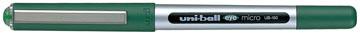 Uni-ball roller Eye Fine et Micro Micro, largeur de trait: 0,3 mm, bille 0,5 mm, vert