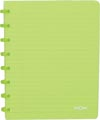 Atoma cahier Trendy ft A5, quadrillé 5 mm, vert transparent