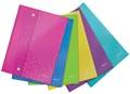 Leitz WOW enveloppe projet A4, en PP, couleurs assorties