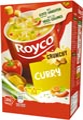 Royco Minute Soup curry avec croûtons, paquet de 20 sachets