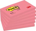 Post-it Notes, ft 76 x 127 mm, neonrose, bloc de 100 feuilles