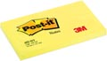 Post-it Notes, ft 76 x 127 mm, jaune néon, bloc de 100 feuilles
