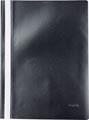 Pergamy farde à devis, ft A4, PP, paquet de 5 pièces, noir